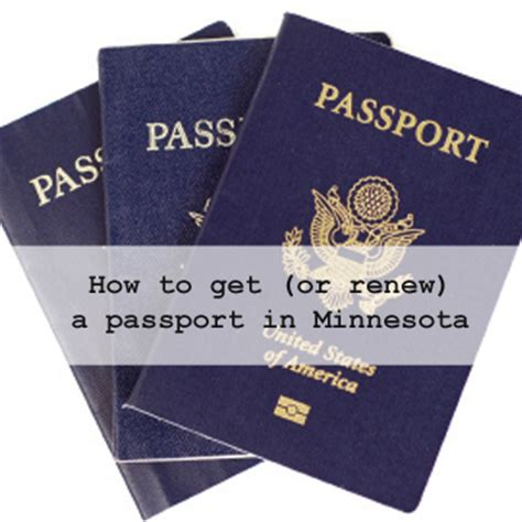 how to renew passport in how to get or renew a passport in minnesota
