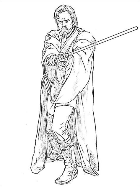 obi wan kenobi lightsaber color obi wan kenobi coloring pages coloring pages