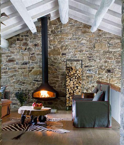 rock wall fireplace wall fireplaces
