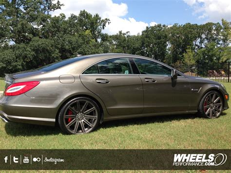 mercedes amg wheels our client s mercedes cls63 amg with 20 quot vossen cv4 wheels
