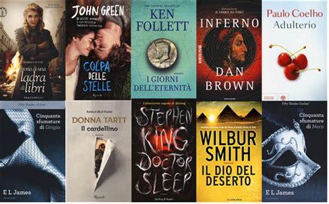 classifica dei libri piu letti i libri pi 249 venduti 2014 sono romanzi da leggere
