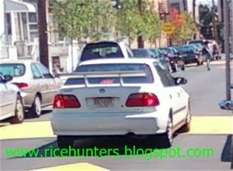 honda ricer wing rice hunters local ricers part 5
