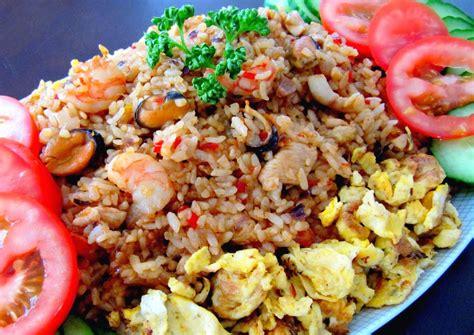 membuat nasi goreng pedas manis resep nasi goreng pedas pakai terasi aneka resep indonesia