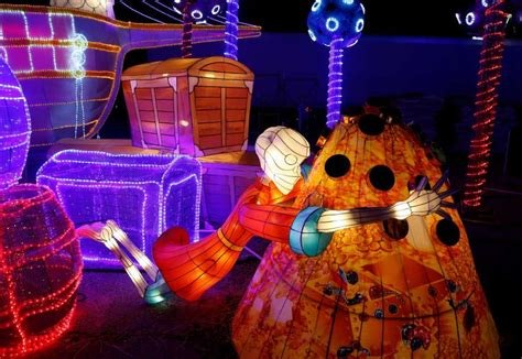 sam houston race park lights family get into the spirit with these events