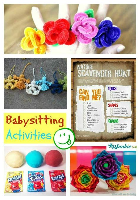 crafts to do with while babysitting 13 must babysitting resources tip junkie