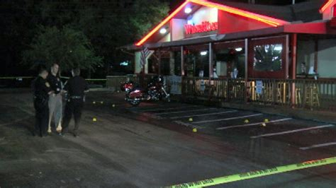 wing house ocala ocala winghouse shooting 1 injured outside restaurant firefighters say wftv wftv