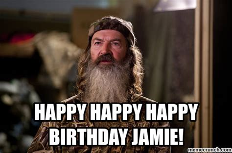 Jamie Meme - happy happy happy birthday jamie