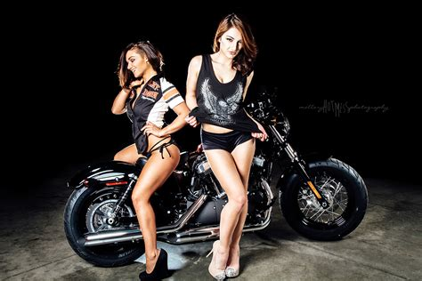 hot and sexy girls on stylish bike hd wallpaper images harley davidson backgrounds for desktop page 3 of 3