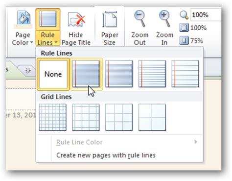 How To Make Graph Paper In Word 2010 - personalize your onenote 2010 notebooks with backgrounds