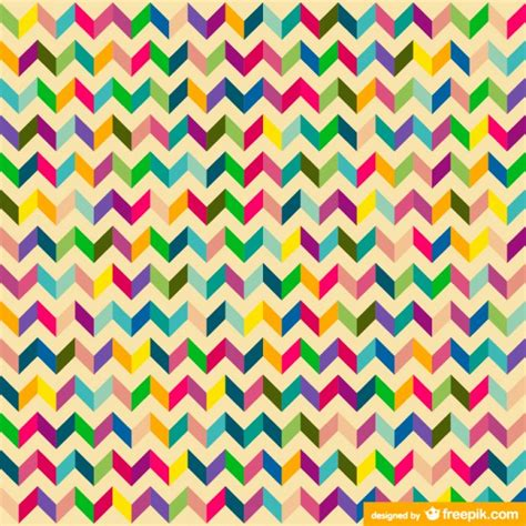 colorful zig zag wallpaper retro zig zag colorful design vector free vector