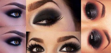 10 Black Smokey Eye Tips by Black Smokey Eye Makeup Tutorial Step By Step Mugeek