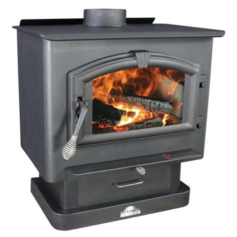 us stove 2 000 sq ft epa certified wood burning stove