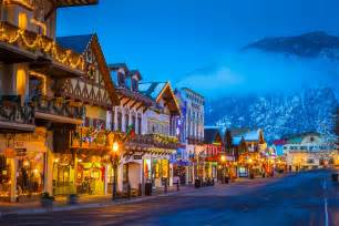leavenworth lights leavenworth washington during the annual leavenworth s