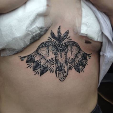sternum tattoo elephant 17 best images about tattoo on pinterest sternum tattoo