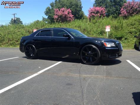 Black Rims For Chrysler 300 by Chrysler 300 Kmc Km651 Slide Wheels Gloss Black