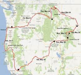 road map of northwestern usa northwest map of usa states pictures to pin on pinsdaddy