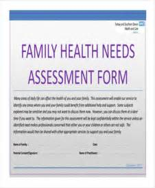health care needs assessment template 27 needs assessment pdf free premium templates