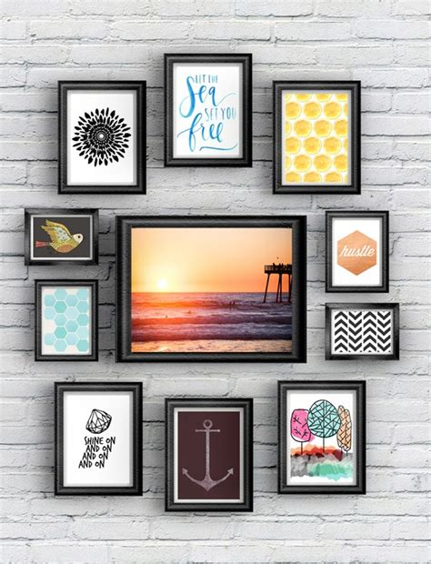 printable wall art photography free art printables for gallery walls vol 3 little gold