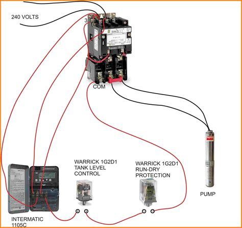 Wiring Diagram For Contactor And Overload Webtor Me