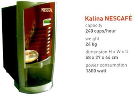 Sewa Mesin Kopi Nescafe nestle professional mitra bisnis para professional