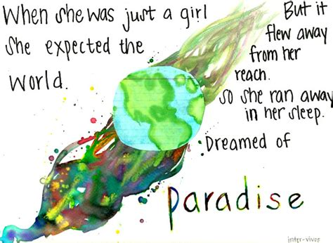 coldplay lyrics paradise original size of image 447302 favim com