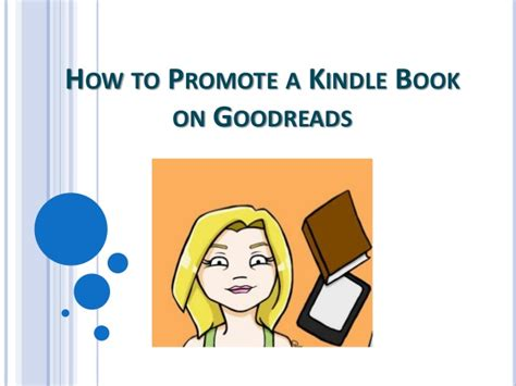 How To Search For On Goodreads How To Promote A Kindle Book On Goodreads