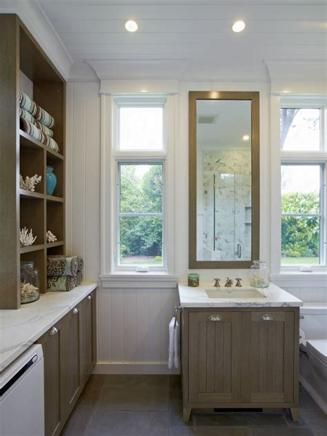 taupe bathroom cabinets cottage bathroom polsky