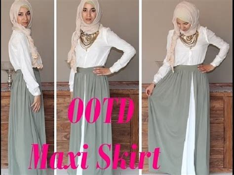 Marwa Maxy By Mazel Cloth ootd maxi skirt et longue jupe