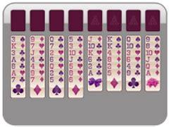 valentine's day klondike solitaire