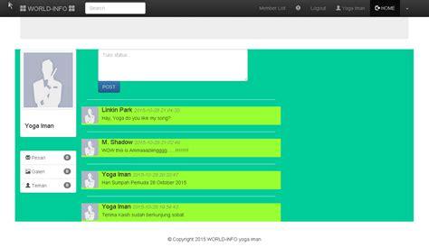 membuat web jejaring sosial dengan php membuat jejaring sosial sederhana dengan php mysql dan
