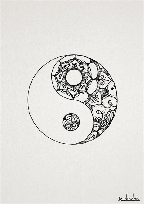 yin yang henna tattoo best 25 mandala ideas on lotus mandala