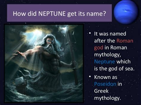 how to a its name neptune