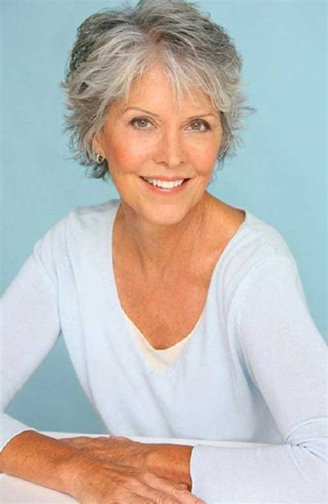 Short Hairstyles For Gray Hair Women Over 50 Square Face | best short haircuts for women over 50 short hairstyles