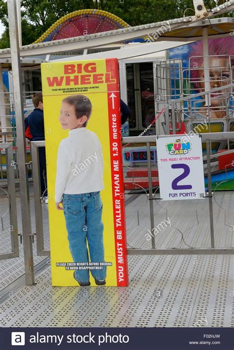 gallery height for pictures height restriction chart for fun ride at fairground in