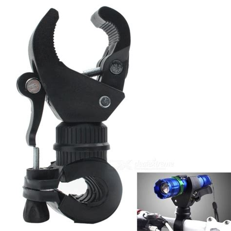 Led Lenser Bicycle Mount Clip Black C196 universal plastic bicycle flashlight torch mount holder cl black free shipping dealextreme