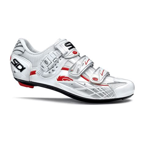 sidi cycling shoes sidi laser s road cycling shoes 40 5 vernice white ebay