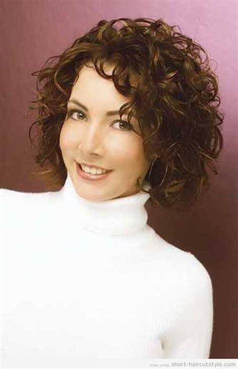 frizzy hair over 40 easy hairstyle for short curly hair for women the best