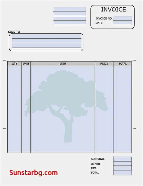 electronic invoice template free printable invoice templates for free electronic
