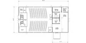Small Church Floor Plans by Small Church Floor Plans 50 By 100 Trend Home Design And