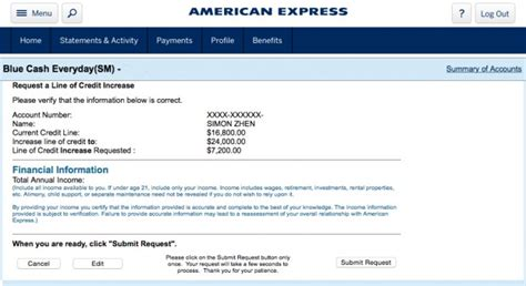 American Express Credit Bureau Unit Letter How Can I Increase My Credit Card Limit By 22 Percent
