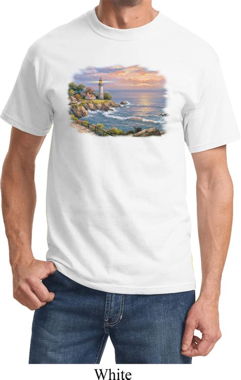 Hl Plain Shirt mens sunset shirt sunset at lighthouse point t shirt