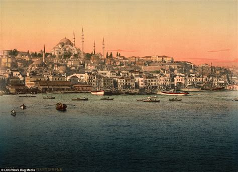 ottoman empire istanbul fascinating pictures show life in 1890s constantinople