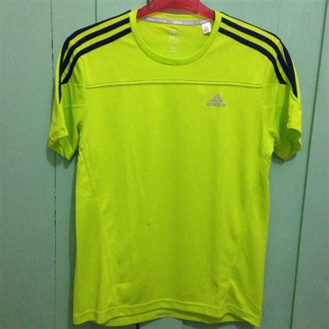 Jual Baju Running by Jual Adidas Response Hijau Strabilo Size M Baju Kaos