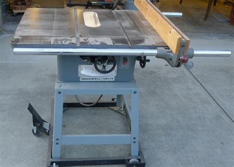 rockwell 15 10 in table saw delta 10 inch contractor saw crowdbuild for