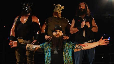 what you didn t see on smackdown the wyatt family