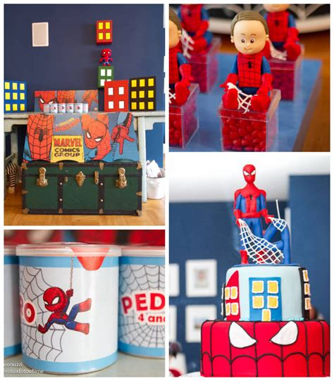 birthday themes spiderman kara s party ideas spiderman themed birthday party idea