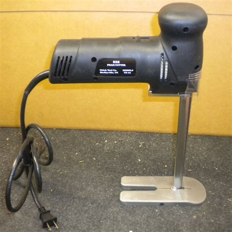 Fabric Cutting Table Eze Foam Rubber Cutter Model Tg 07 110 Volts Ebay