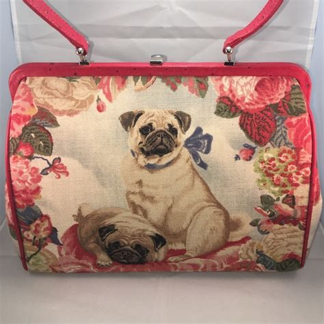 pug handbags 85 fiore handbags fiore pug handbag from s closet on