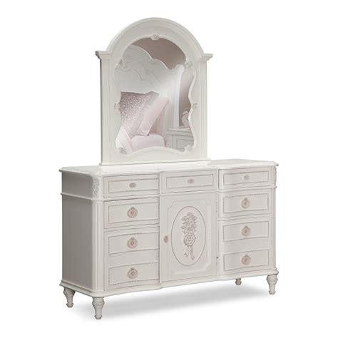 white bedroom dresser with mirror bouquet white kids furniture dresser mirror value city