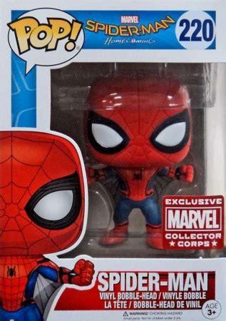 Funko Pop Marvel Spider Homecoming funko pop spider homecoming checklist set info